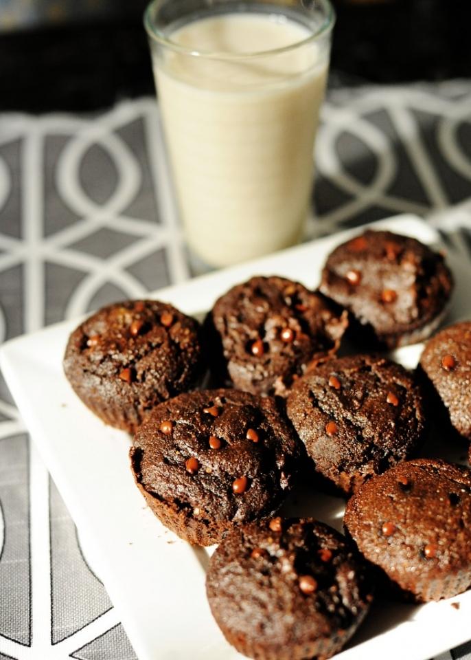 Stiritup.me chocolate chip muffins